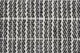 Fabula Living - Tanne Teppe Hvit/Svart - 170x240