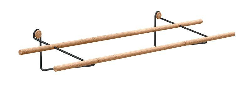 We Do Wood - Skohylle - Bambus m/svart ophæng